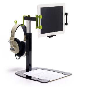 DCS5-Dewey iPad full size-headphone holder
