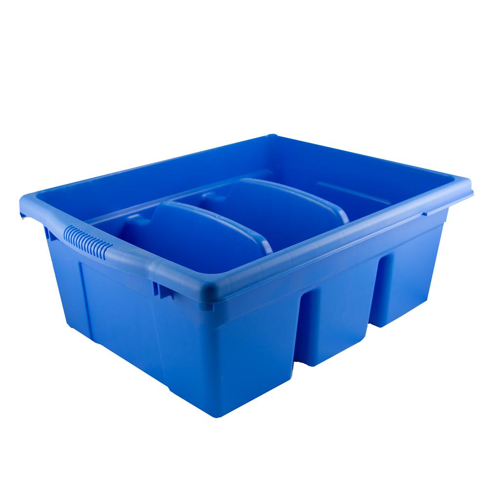 RA-101-B Divided tub - Blue - Alphabetix