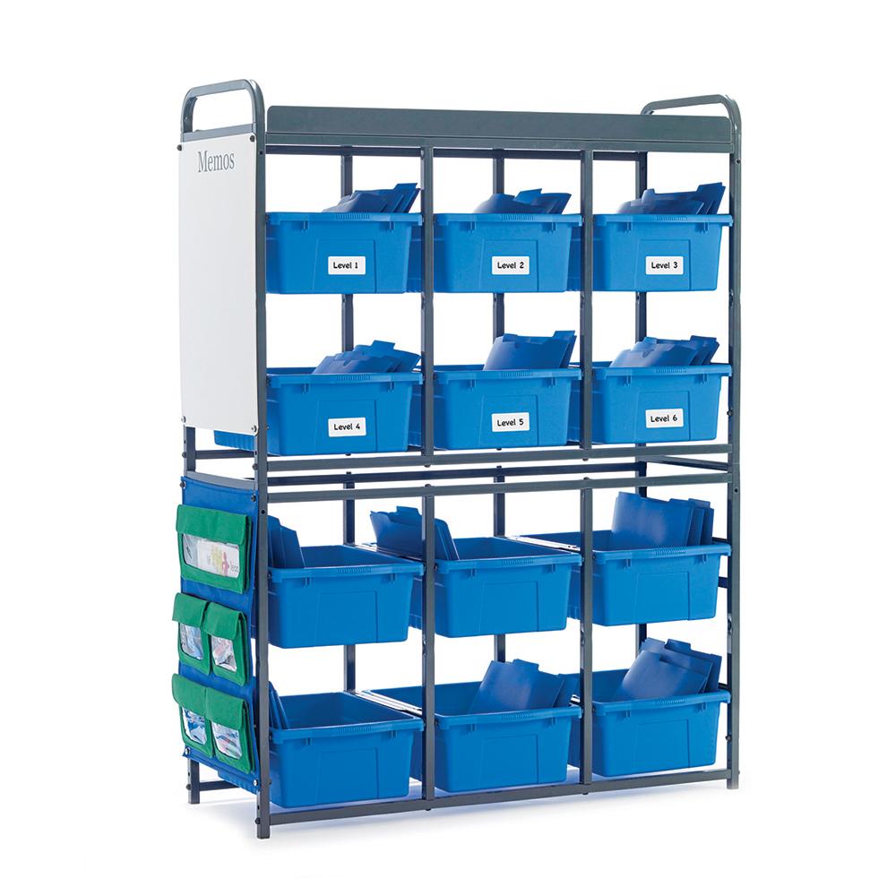 mp 400 b modules de rangement bacs bleus alphabetix. Black Bedroom Furniture Sets. Home Design Ideas